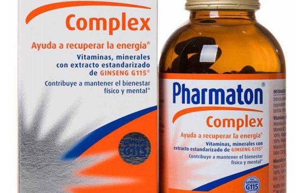 Pharmaton'un faydaları, Pharmaton'un yararları, Pharmaton'unun içerdiği vitaminler