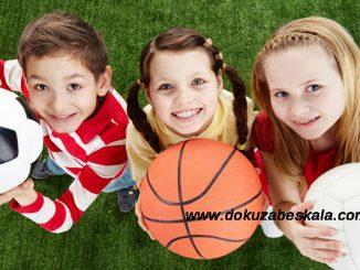 çocukları spor için yönlendirme, çocukları spor yapmaya teşvik etme, çocukların spor yapmalarını sağlama